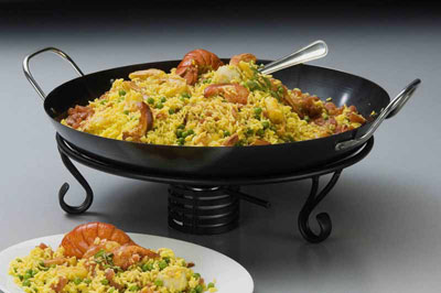 American Metalcraft Paella Pan - GS1775 (CASE OF 2)