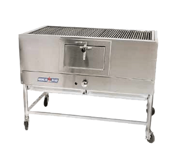 American Range Mesquite Wood-Fired CharBroiler - AMSQ-30
