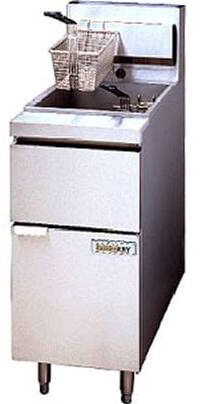 ANETS GoldenFry Fryer Battery with Filter Mate System - 14GS-2FM