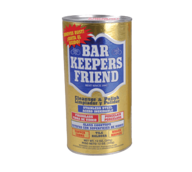 BK Resources Bar Keepers Friend Stainless Steel Cleaner - BK-BKFCLEANER-12