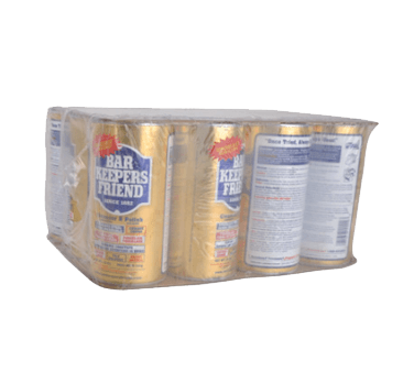 BK Resources Bar Keepers Friend Stainless Steel Cleaner - BK-BKFCLEANER-CASE