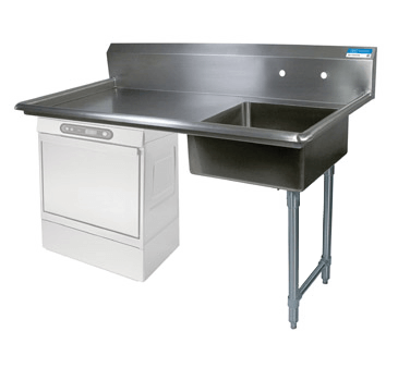 BK Resources Soiled Dishtable - BKUCDT-50-R