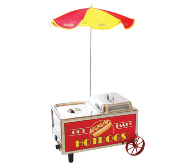 Benchmark USA Hot Dog Mini Cart - 60072