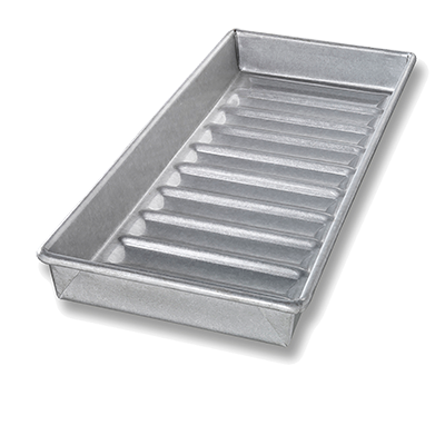 Chicago Metallic New England Hot Dog Bun Pan - 22100 (Case of 6)