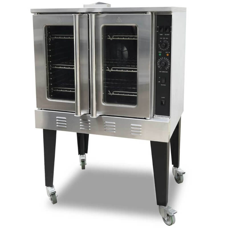 "Cookline CC-100 38"" Gas Single Deck Convection Oven"