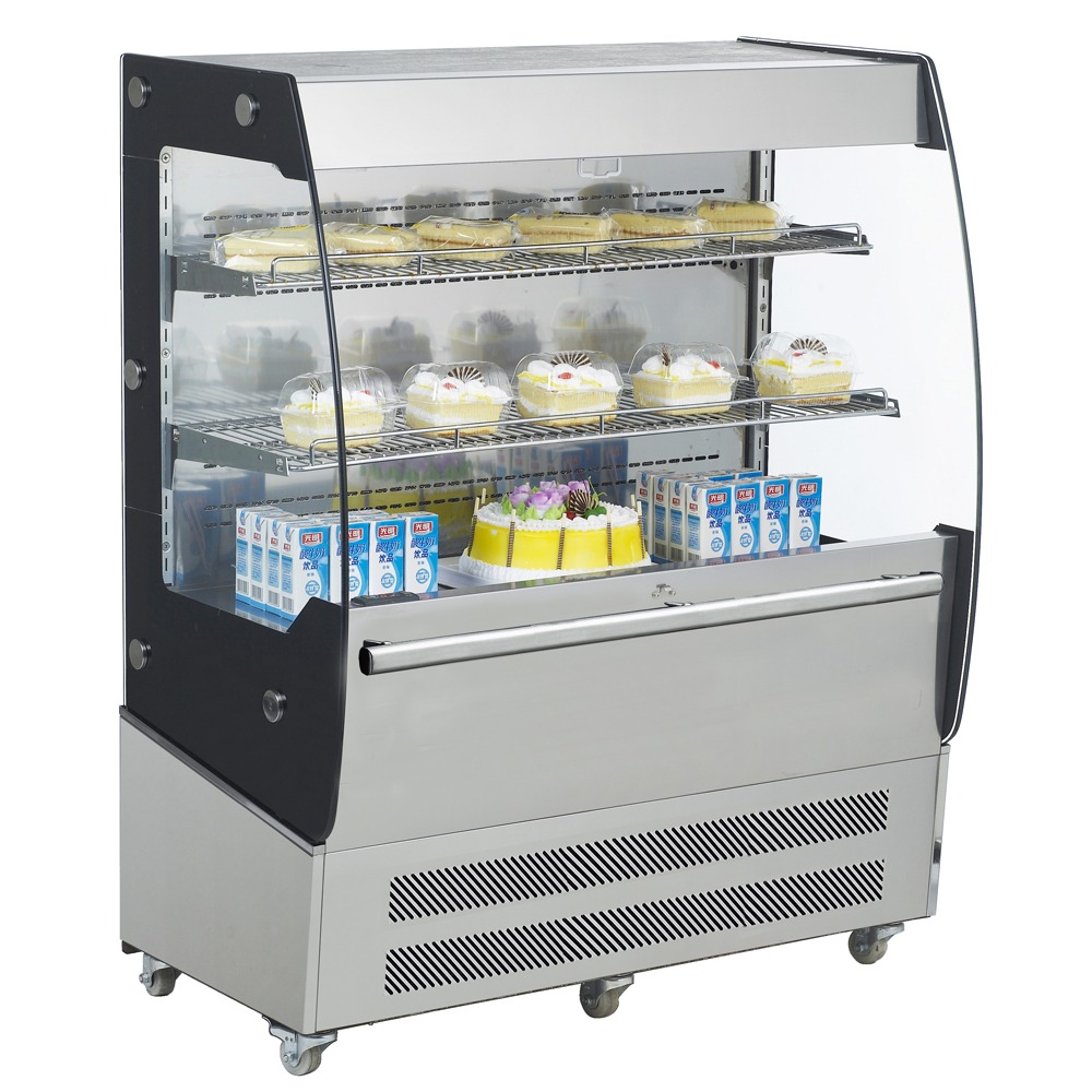 "Marchia MDS200 40"" Open Display Merchandiser Grab and Go Display Case"