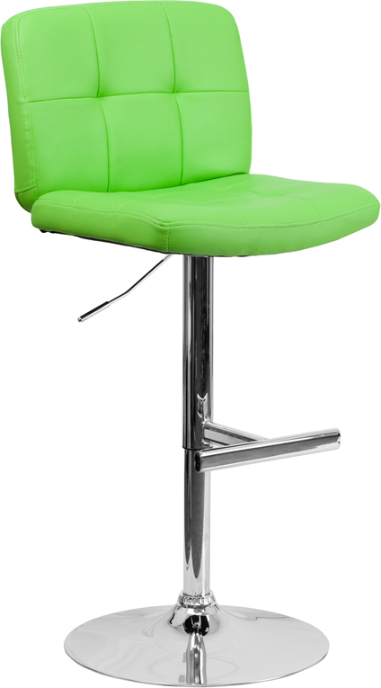 Flash Furniture Green Contemporary Barstool Ds 829 Grn Gg