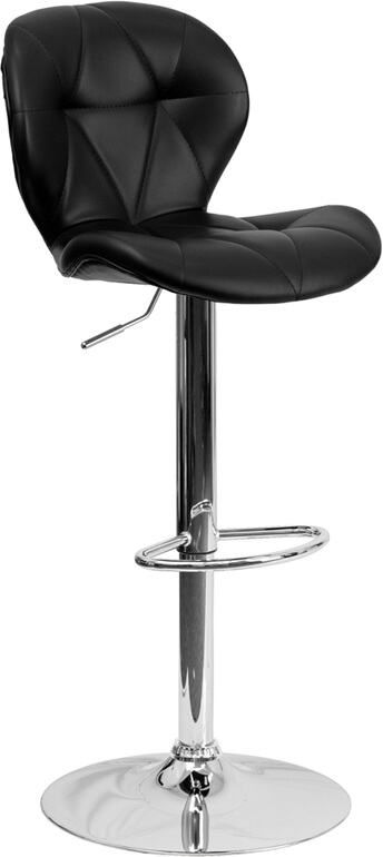 Flash Furniture Black Contemporary Barstool Sd 2208 Bk Gg