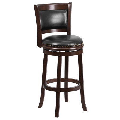 Flash Furniture Swivel Bar Stool - TA-61029-CA-GG