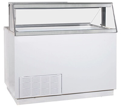 ice cream dipping cabinet global refrigeration dipping cabinet 12 cft 17466
