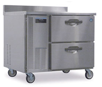 hoshizaki commercial refrigerator worktop pro series stainless steel 1-section w/ drawers hwr40a-d