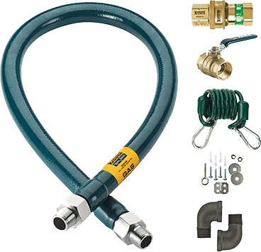 Krowne Royal Series Moveable Gas Connection Kit - M7548K