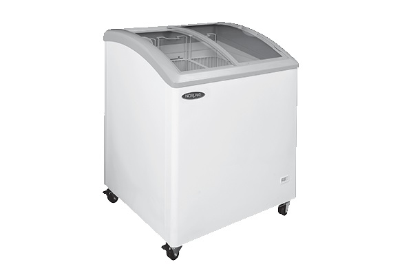 Nor-Lake CTB71-17 Curved Lid Display Freezer