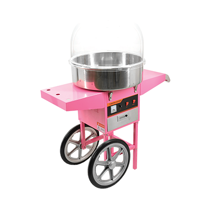 Omcan USA (CF-CN-0520-T) Cotton Candy Machine with trolley - 40383