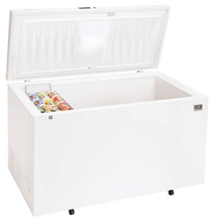kelvinator commercial chest freezer 19.9 cft model kcs200gw