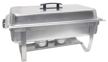 Adcraft Chafing Dish 8 qt. capacity rectangular - FCD-8
