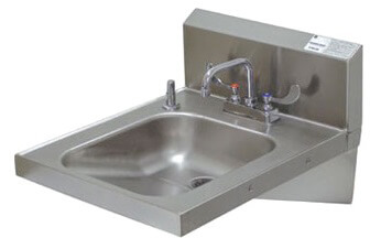 Advance Tabco Wall Mounted Hand Sink Model 7-PS-25