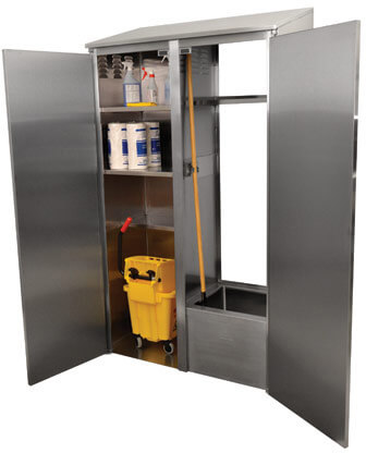 Advance Tabco 84 Cabinet Double Width Model 9-OPC-84DR