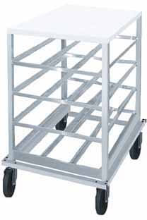Advance Tabco Can Storage Rack - CRPL10-54