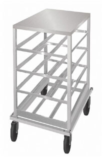 Advance Tabco Can Storage Rack - CRSS10-72