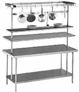 Advance Tabco Pot Rack Table Mounted - SCT-36