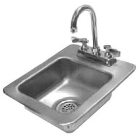 Advance Tabco Drop in One Compartment Sink Model DI-1-25