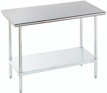 Advance Tabco 30 Work Table w/24 Wide Top Model ELAG-240