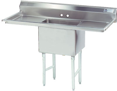 Advance Tabco 66 Fabricated One Compartment Sink () Fe-1-1824-24Rl