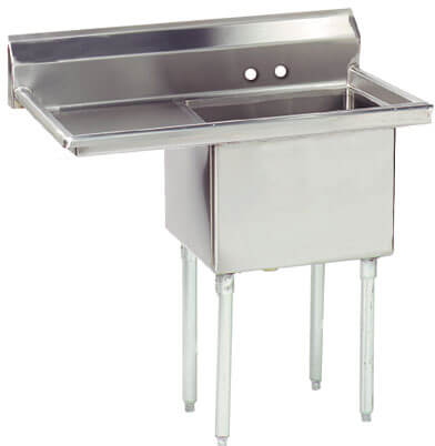 Advance Tabco 36.5 Fabricated One Compartment Sink () Fe-1-1620-18L