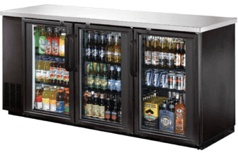 Alamo Large Back Bar Cooler - XUBB72-HC
