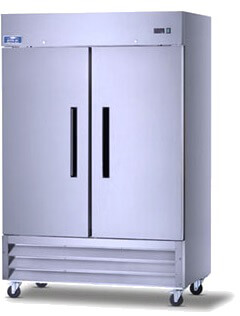 Arctic Air Two Door Reach-in Freezer  Model AF49