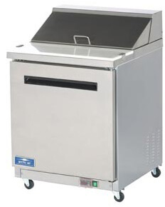Arctic Air Sandwich/Salad Prep Table Model AST28R