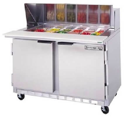 Beverage Air Commercial Sandwich Prep Table SPE - Commercial sandwich prep table
