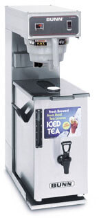 bunn 3 gallon iced tea brewer with portable server  36700.0041
