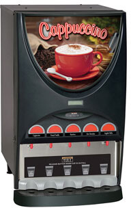 Bunn iMIX Hot Beverage System with 4 and 5 Hoppers  37000.0000