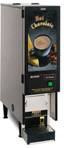 Bunn Fresh Mix Dispenser with 1 or 2 Hoppers -FMD-1-0196