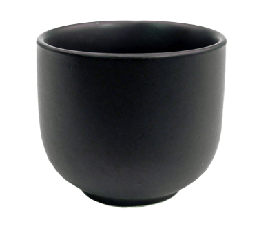 CAC China Japanese Style Sake Cup - 666-WC-BLK (6 dozen)