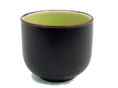 CAC China Japanese Style Sake Cup - 666-WC-G (6 dozen)