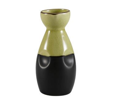 CAC China Japanese Style Sake Pot - 666-WP-G (3 dozen)
