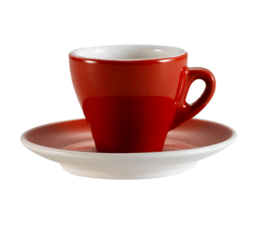 CAC China Cup and Saucer Set - E-3-R (48 set)