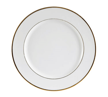 CAC China Golden Royal Plate - GRY-22 (3 dozen)