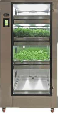 Carter-Hoffmann Gardenchef herb and microgreen growing cabinet; automated growing system for lights - GC41