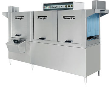Champion E-Series Dishwasher with Prewash 100 PRO