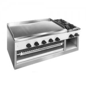 Comstock-Castle Griddle/Cheesemelter/Hotplate Budget Series - 11201B