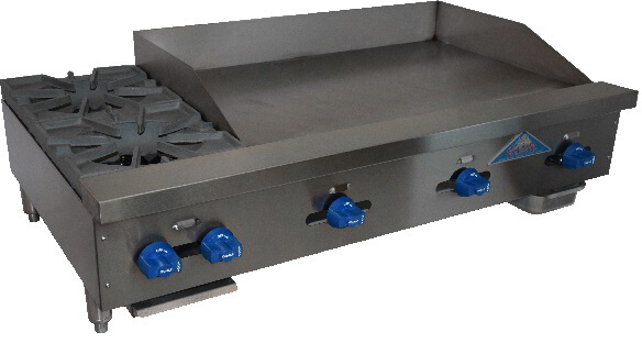 Comstock-Castle Hotplate/Griddle counter model - FHP48-36