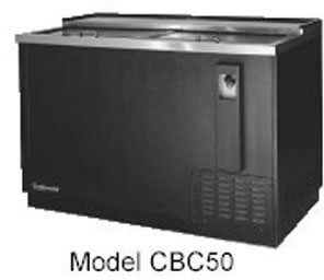 Continental Draft Beer Cooler 79 Wide CBC50