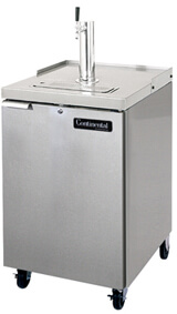 Continental Draft Beer Cooler 24 Wide KC24NSS