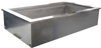 Delfield Drop-In Ice Cooled Cold Pan - N8081