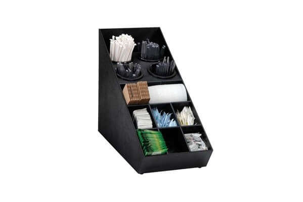 Dispense-Rite Silverware And Condiment Organizer- SWCH-1BT