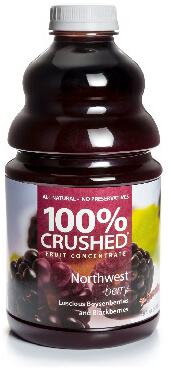 dr. smoothie northwest berry 100 percent crushed fruit smoothie concentrate 46 oz. (2 pack)